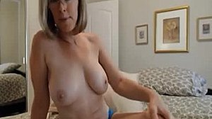 Granny, Model, Big tits, Mature, Grandmother, Tits, Russian