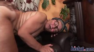 Pussy, Mature, Wet, Monster cock, Drilled, Grandmother, Facial