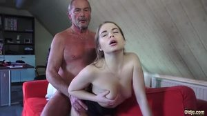 Fucking, Small tits, Blowjob, Hardcore, Hairless, Old and young, Tits